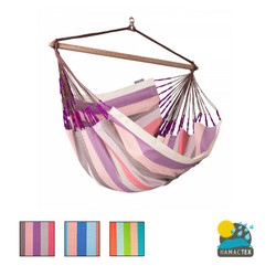 La Siesta - Domingo Weatherproof Lounger Hammock Chair - 3 colours available