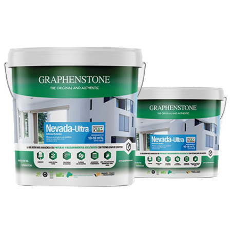 Nevada, mist coat paint for new plaster, is available in tubs of 15L and 4L