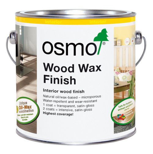 Osmo Wood Wax Finish Intensive (2.5l).