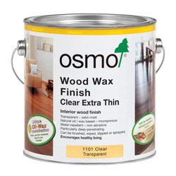 Osmo Wood Wax Finish Extra Thin (2.5l).