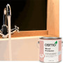 Osmo Wood Protector to protect wooden surfaces around sinks.