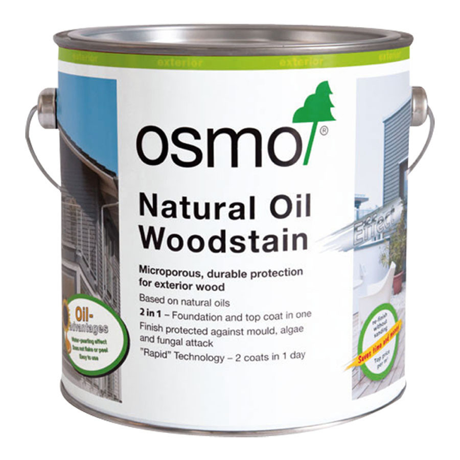 Osmo Natural Oil Woodstain Pearl Grey