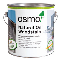 Osmo Natural Oil Woodstain (2.5l)