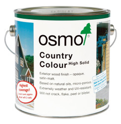 Osmo Country Colour available in 19 colours for interior and exterior wood.