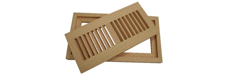 Wood registers