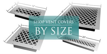 Decorative Vent Covers : Air Vent Cover : Heater Vent Covers - Vent Covers Unlimited