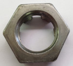 1'' Trailer Castle Style Spindle Nut Back View