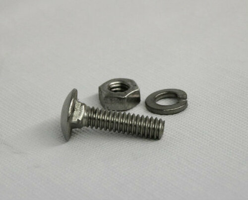 """1/4"""" Stainless Steel Carriage Bolt"""