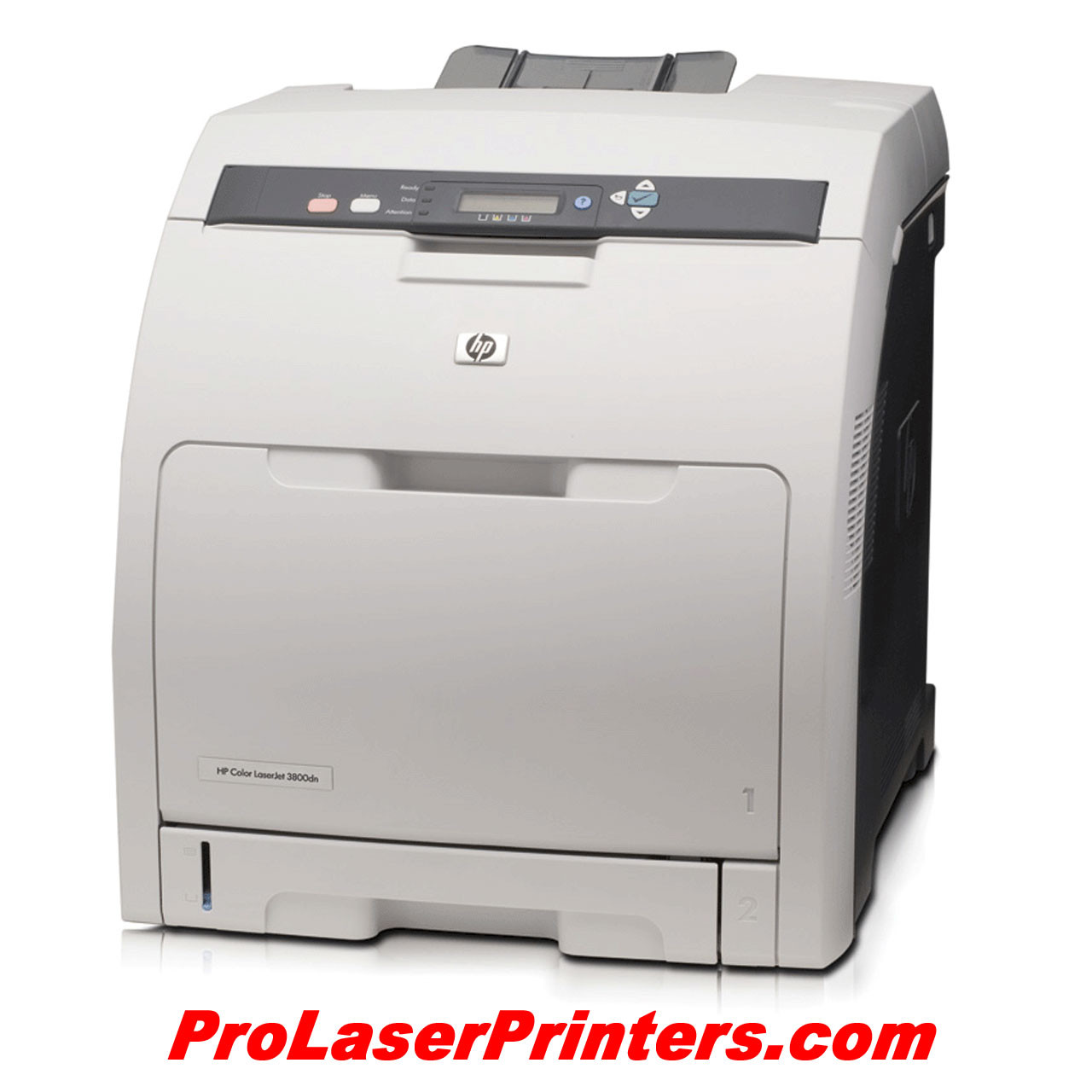 HP (Hewlett-Packard) Color LaserJet 3800dn Laser Printer - Right Angle View  -
