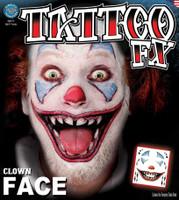 TATTOO-CLOWN FACE FX