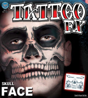TATTOO SKULL FACE FX
