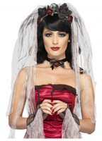 Womens Halloween bride