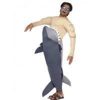 Shark fancy dress costume