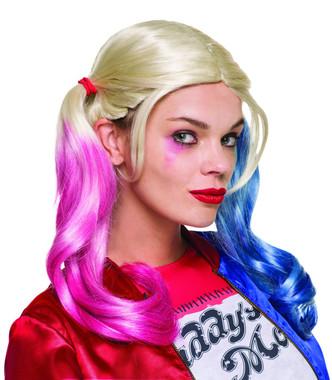 Harley quinn costume wig