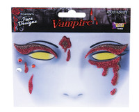 creepy vampire makeup
