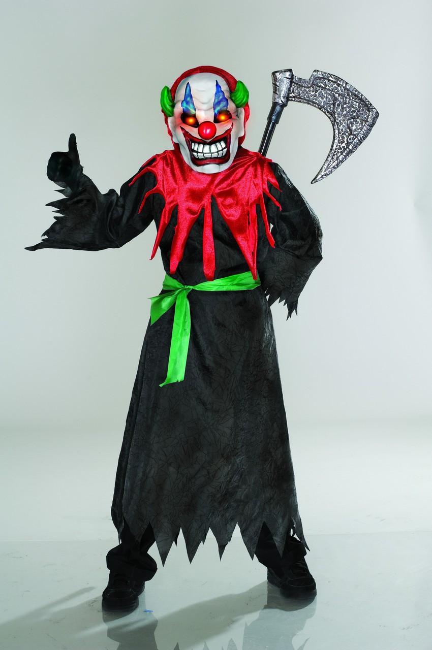 Scary Clown Halloween Costume.Crazy Clown Halloween Costume Australia