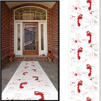 BLOODY FOOTPRINT RUNNER