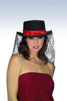 black Halloween hat