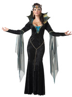 Evil sorceress womens costume