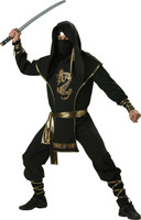 Mens Ninja Warrior costume