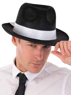 fancy dress gangster hat