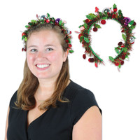 tinsel headband