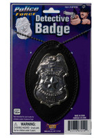 Novelty police badge