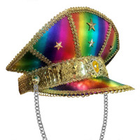 sequined party hat