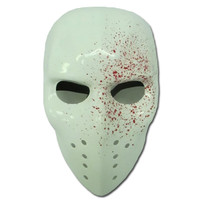 BLOOD APLATTERED HOCKEY MASK