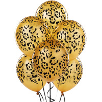 LEOPARD print party decoations