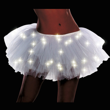 White light up tutu