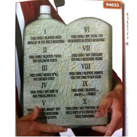 TEN COMMANDMENTS OF PARTY BEVERAGE TABLET