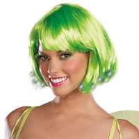 Light up Pixie wig