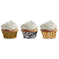 ANIMAL PRINT MINI MUFFIN CUPS