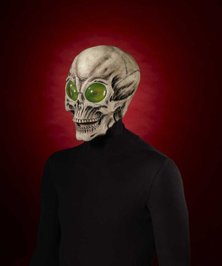 Alien skull mask