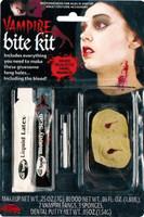 Vampire bite makeup