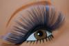 Blue lashes