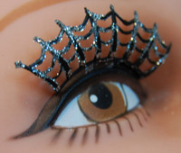 spider web lashes