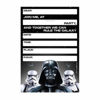 Party invitations Star Wars