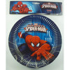 Spiderman party plates