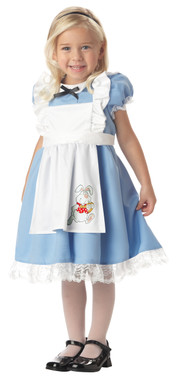 Little girls alice in wonderland costume