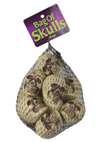 Halloween bag of skulls