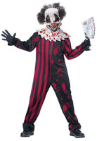 Hallloween kids clown costume