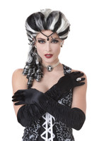 Black and White costume wig