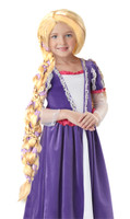 Girls Rapunzel wig