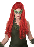 Poison ivy fancy dress wig