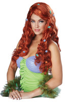 Mermaid fancy dress wig