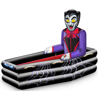 DRACULA HALLOWEEN COFFIN COOLER