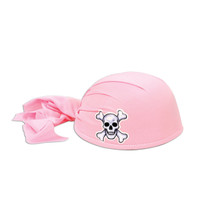 PIRATE SCARF HAT PINK