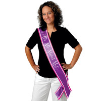 IT'S ALL ABOUT ME! SATIN SASH
